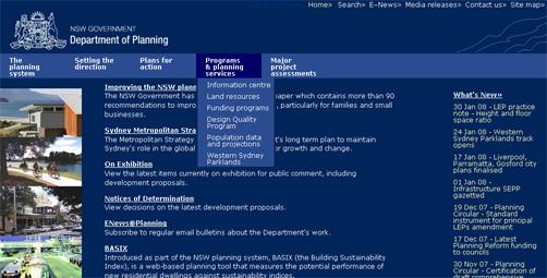 Planning NSW Govt
