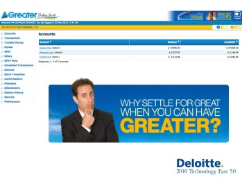 Greater Deloitte Jerry Seinfeld