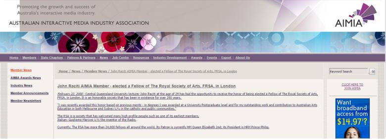 AIMIA is the Digital Industry Association for Australia.